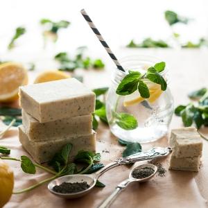Lemon Herb Soap for Facebook