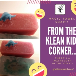 From The Klean Kids Korner: Magic Towel Soap!
