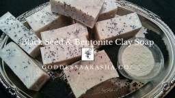 Black Seed and Bentonite Clay Soap