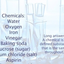 Survival Series: Introductory to Chemicals