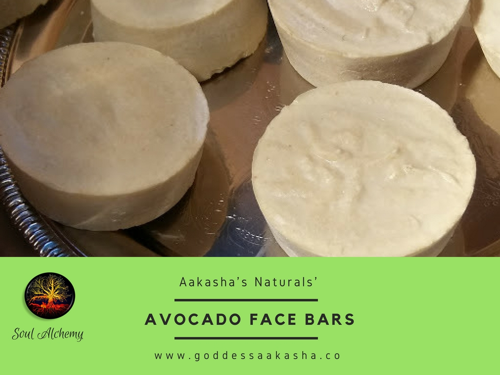Avocado And Herb Face Bars