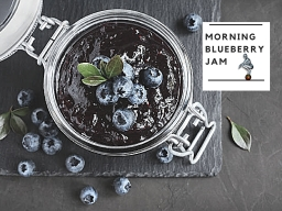 Morning Blueberry Jam
