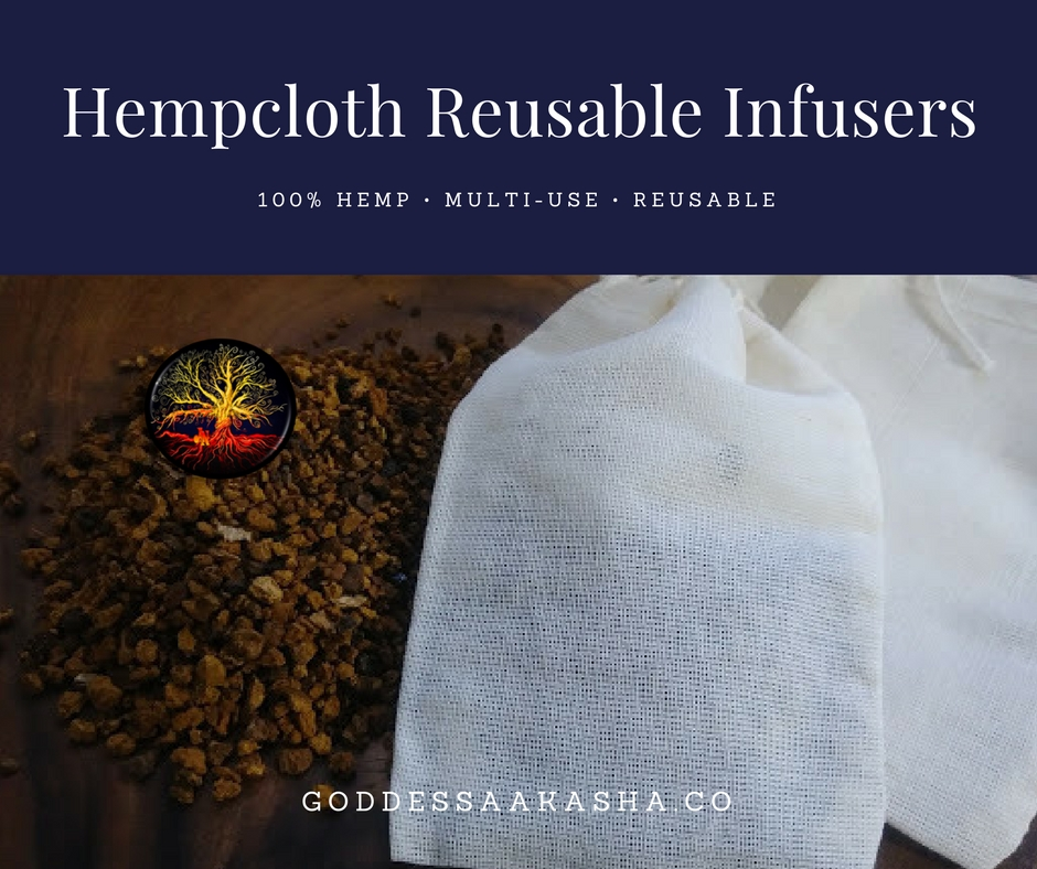 Hempcloth Reusable Infusers