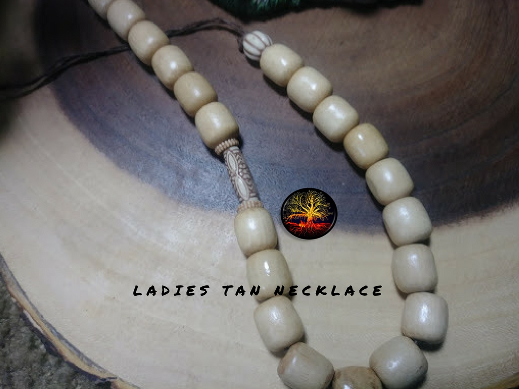 ladie's tan necklace
