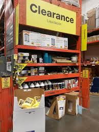 home depot clearnace