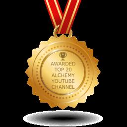 Soul Alchemy Youtube Channel Awarded Top 20 Alchemy Channel!
