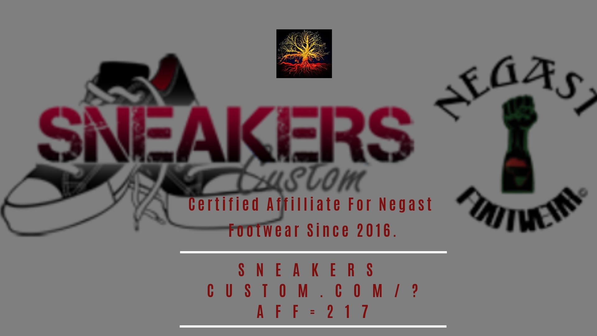 Certified Affilliate For Negast Footwear Since 2016.